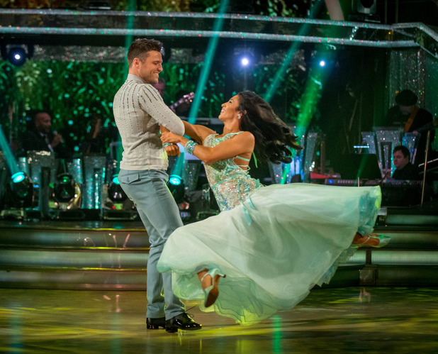 Strictly Come Dancing's Mark Wright and Karen Hauer Transmission Date: 04/10/2014