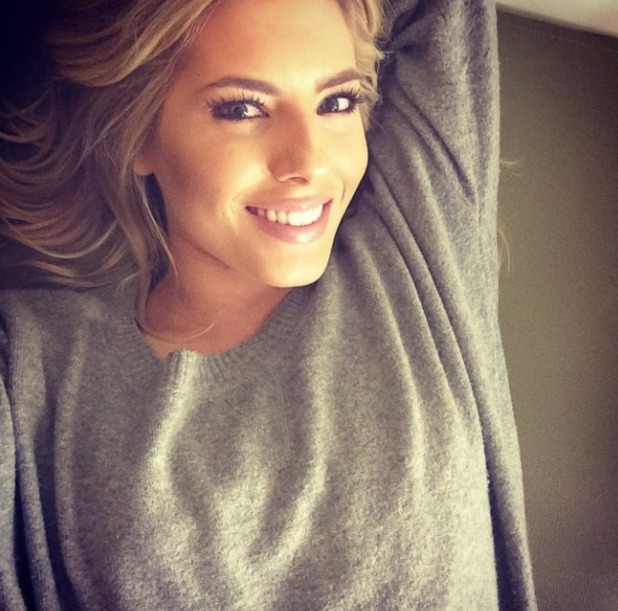 Mollie King takes a Sunday selfie, 12 October.