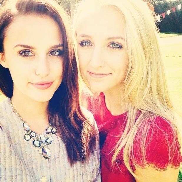 Lucy Watson and sister Tiffany Watson 2 September