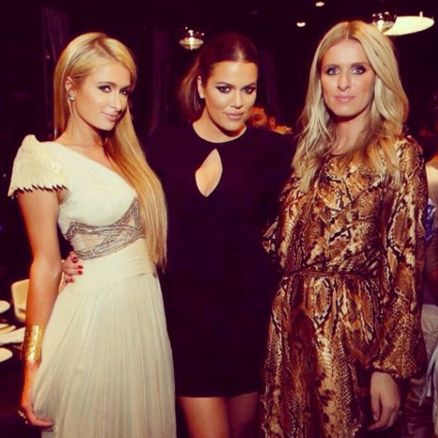Paris Hilton looks stunning in a Studio8Fashion dress in Dubai, 10 October 2014