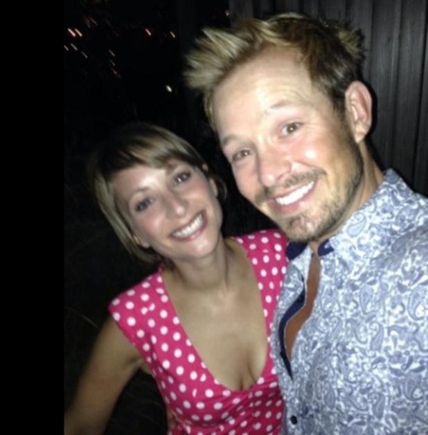 Adam Rickitt and fiancee Katie Fawcett in New York - 6 Sep 2014