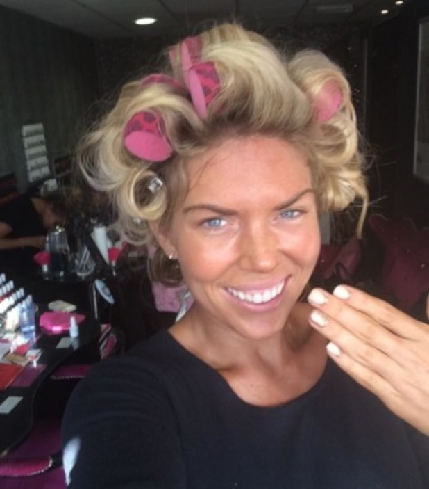 Frankie Essex gets ready for a night out in Mayfair with boyfriend John, 11 Oct.