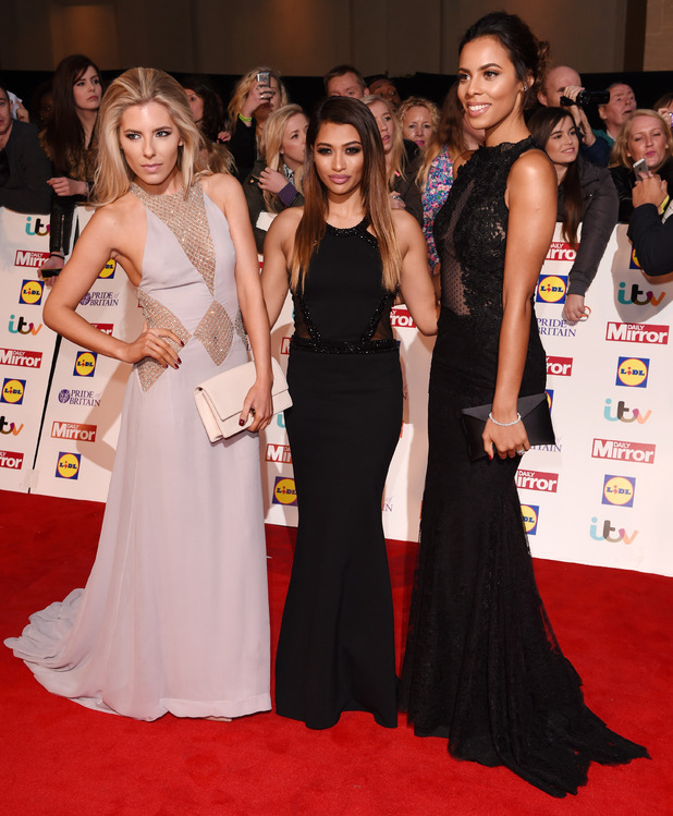 Mollie King, Vanessa White and Rochelle Humes Pride of Britain Awards, 'A Night of Heroes', London, Britain - 06 Oct 2014
