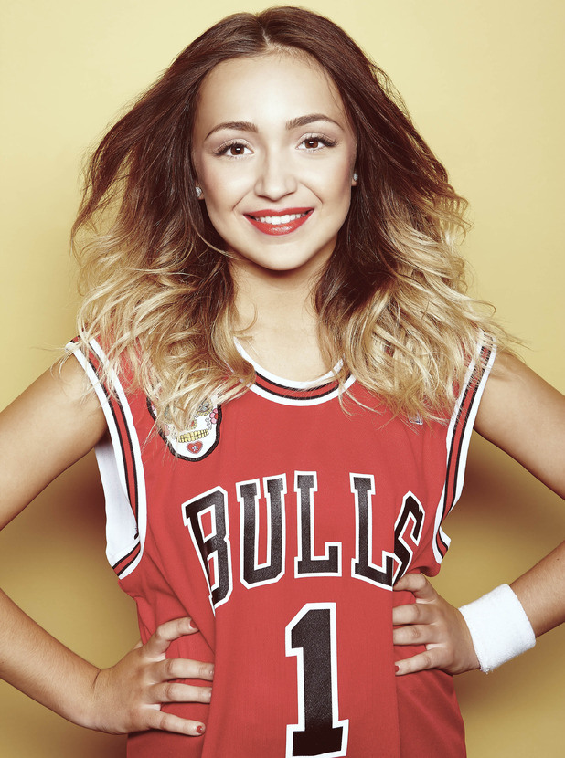 X Factor's Lauren Platt - glam shot - 5 October 2014