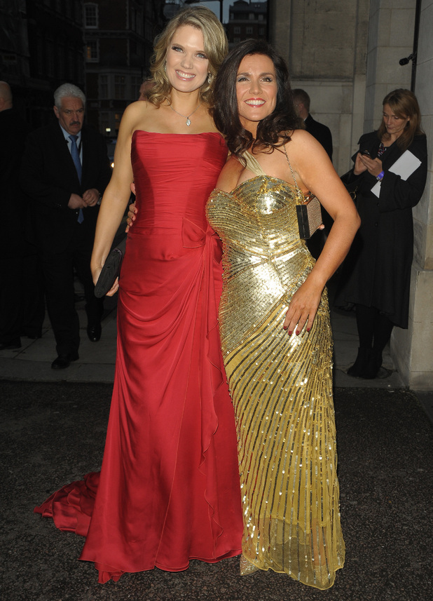 Charlotte Hawkins and Susanna Reid at The Pride Of Britain Awards 2014 - 6 October 2014