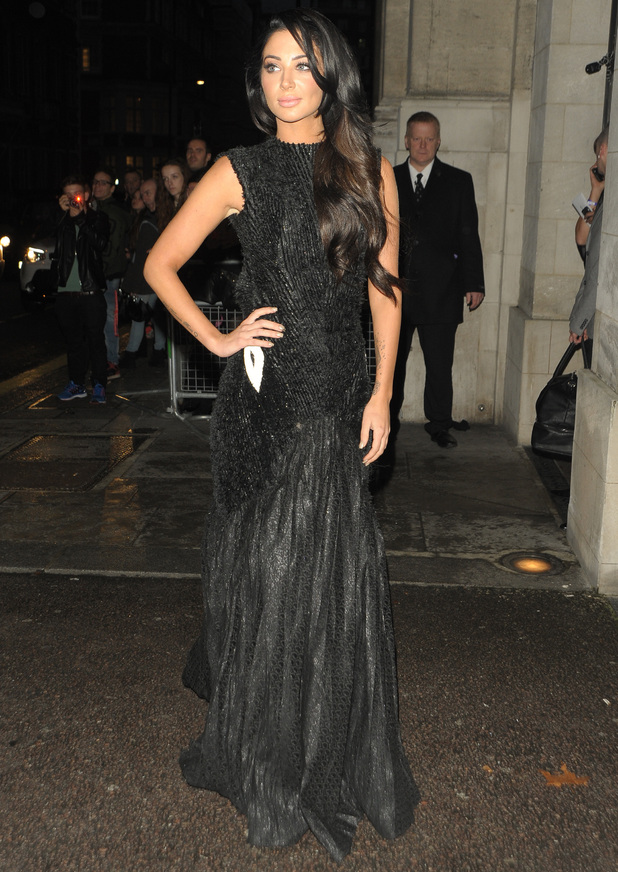 Tulisa Contostavlos at The Pride Of Britain Awards 2014 - 6 October 2014