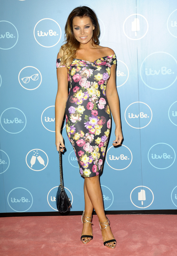 TOWIE's Jessica Wright attends the ITVBe launch party in London, England - 7 October 2014