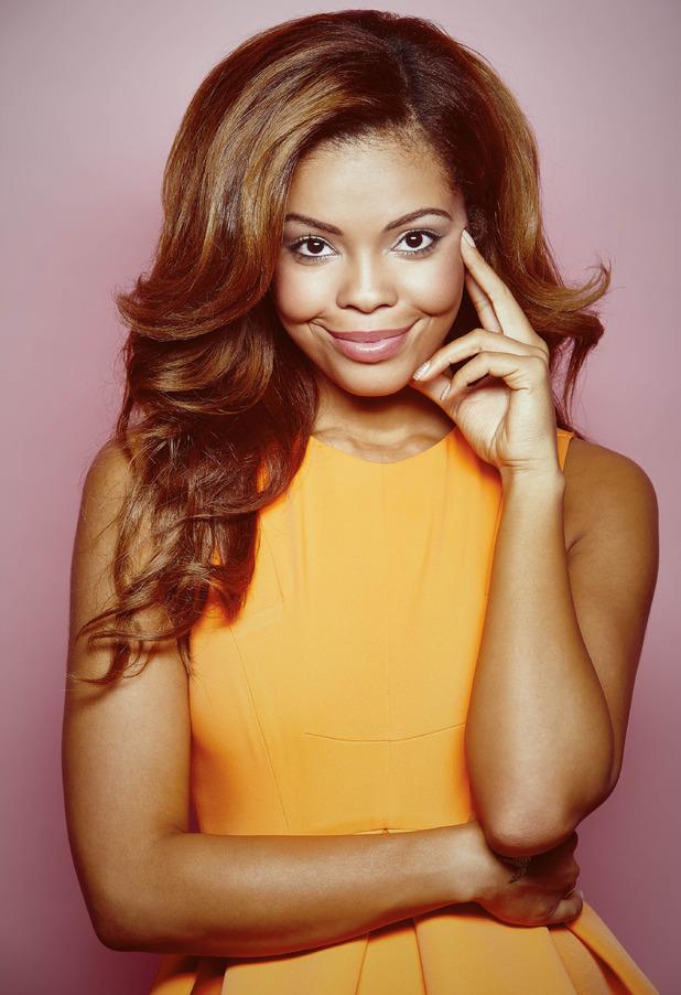 X Factor's Stephanie Nala - glam shot - 5 October 2014