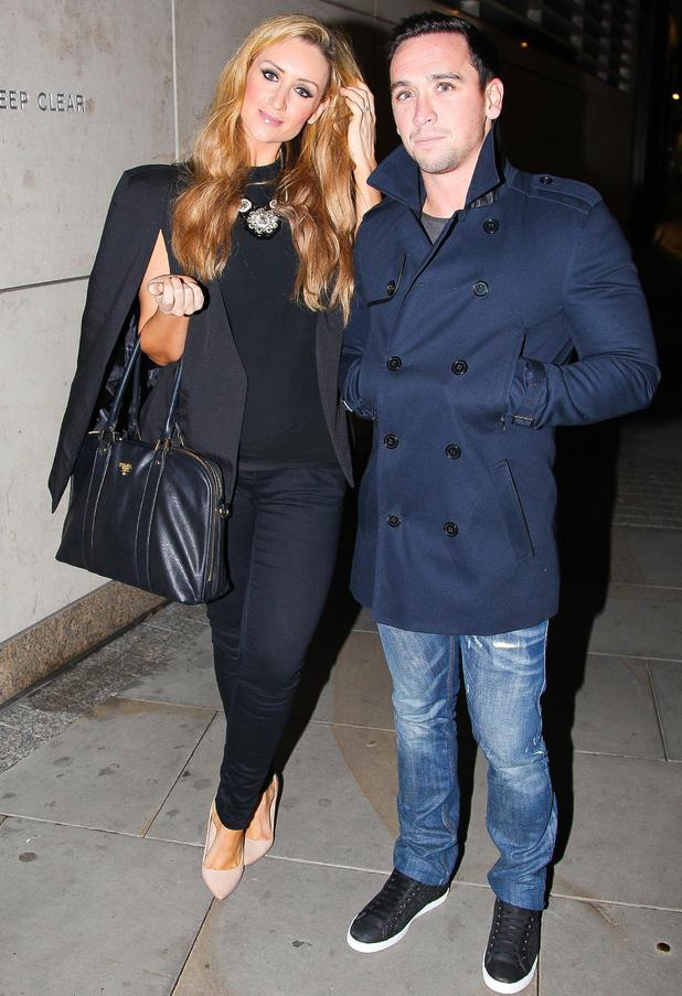 Selfridges Fashion Show, Manchester, Britain - 09 Oct 2014 Catherine Tyldesley and Thomas Pitfield