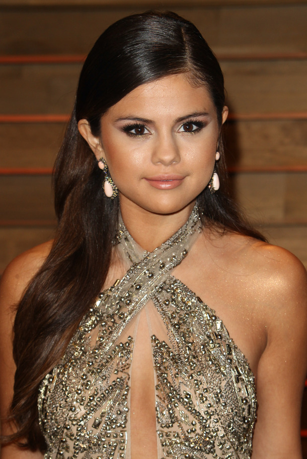 Selena Gomez attends the Vanity Fair Oscar Party in West Hollywood - 3 March 2014