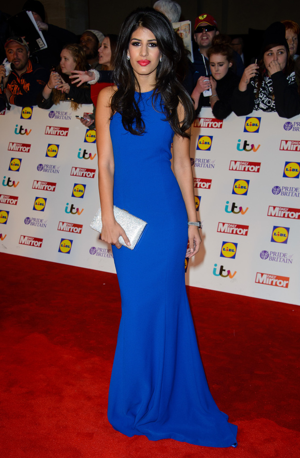 Jasmin Walia attends the Pride of Britain Awards 2014 in London, England - 6 October 2014
