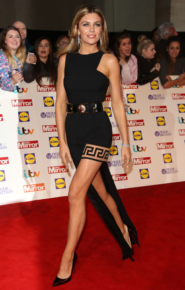 Abbey Clancy attends the Pride of Britain Awards 2014 in London, England - 6 October 2014