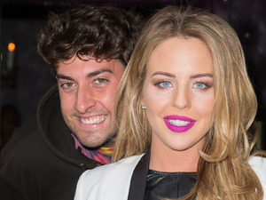 The Only Way Is Essex' cast arrive to film at the Freedom Bar in Wardour Street - 15 Oct 2014