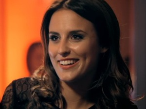 Made In Chelsea series 8, episode 1. Aired: Monday 13 October 2014. Oliver Proudlock speaks to Lucy Watson at Spencer Matthews' party.