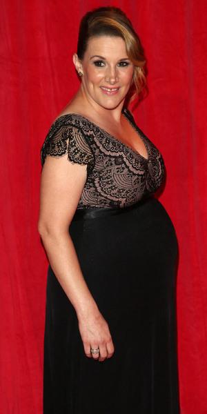 Sam Bailey at The British Soap Awards, Hackney Empire 24 May