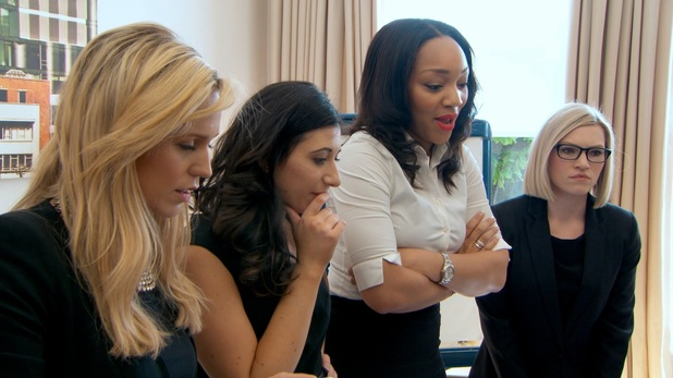 The Apprentice candidates make Wearable Technology - 15 Oct 2014 Bianca Miller is not happy