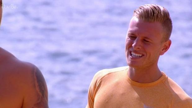 TOWIE's Dan Osborne chats to Tommy Mallett in Ibiza - 13 Oct 2014