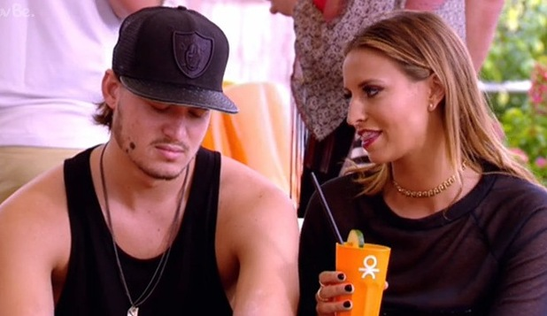 TOWIE's Charlie Sims and Ferne McCann discuss Elliott Wright in Ibiza - 13 October 2014