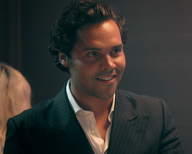 Made In Chelsea's Andy Jordan at Spencer's party - 15/10/2014