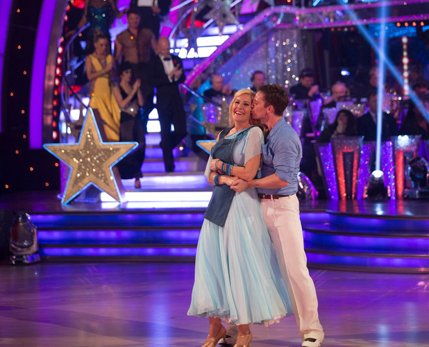 Strictly Come Dancing - BBC One Jennifer Gibney and Tristan MacManus dance their final dance - 12 October.