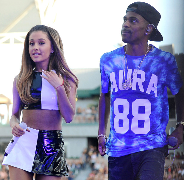 KIIS FM 'Wango Tango', Los Angeles, America - 10 May 2014 Ariana Grande and Big Sean