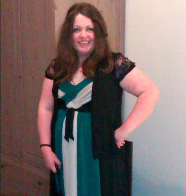 Anne Marie Haughey, So big my belt wouldn't fit around my thigh