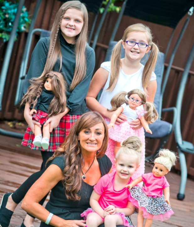 Tracey Cannon, My lookalike dolls are making a fortune