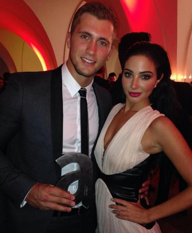 TOWIE's Dan Osborne wins Fittest Man Of The Year at Attitude Awards, 14 October 2014