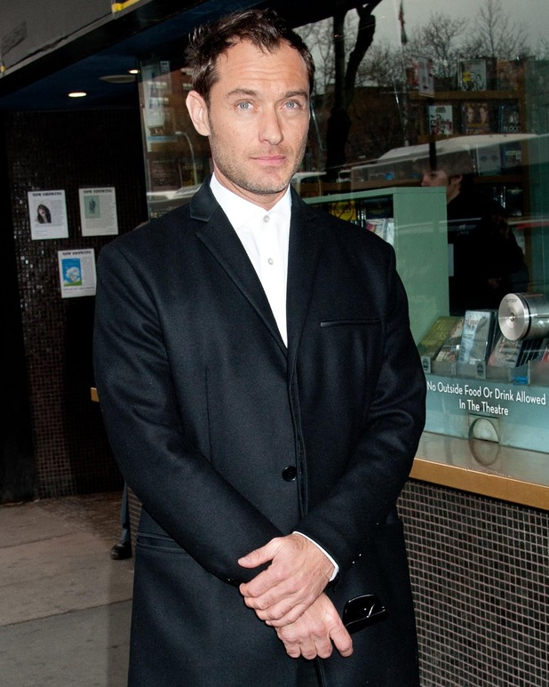Jude Law - Screening of Fox Searchlight Pictures' 'Dom Hemingway' hosted by The Cinema Society And Links Of London - Arrivals - 27 March 2014