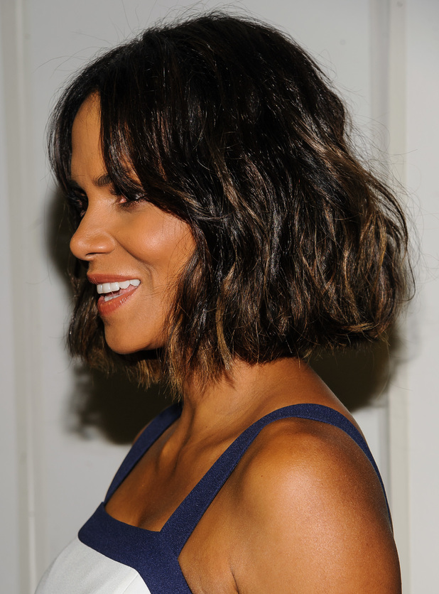 Halle Berry shows off her new bob haircut at the God's Love We Deliver 2014 Golden Heart Awards in New York - 16 October 2014