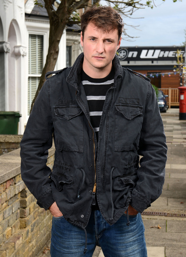 EastEnders' Martin Fowler, now played by James Bye - 12 October.