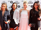 Little Mix hit the style mark in chic monochrome outfits at Teen Awards