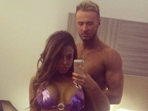 Holly Hagan and boyfriend Kyle show off RIPPED bods in hot new selfie!