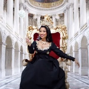 Nicki Minaj in promo video for MTV EMAs 24 October