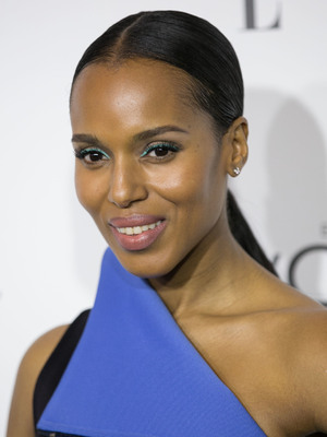 Kerry Washington. Celebrities attend ELLE's 21st Annual Women in Hollywood Celebration at the Four Seasons Hotel, 21 October 2014
