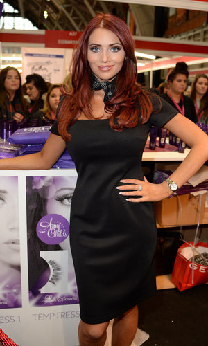 Amy Childs at the Professional Beauty North show - Day 2 10/20/2014 Manchester, United Kingdom