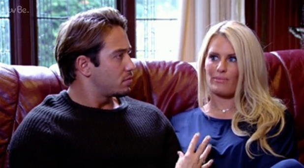James Lock and Danielle Armstrong attend relationship counselling, TOWIE 19 October