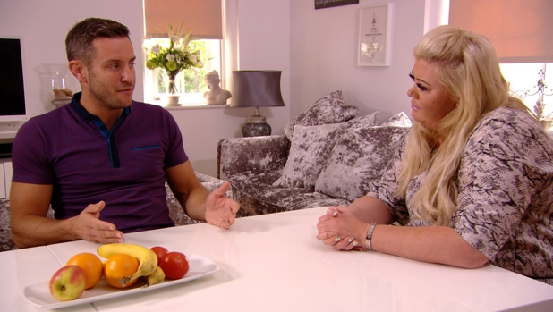 The Only Way Is Essex - Elliott Wright speaks to Gemma about his break with Chloe. Episode airs - Wednesday 22 October 2014.