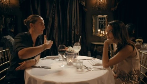 Lucy Watson and Oliver Proudlock go on a first date, Made In Chelsea 20 October