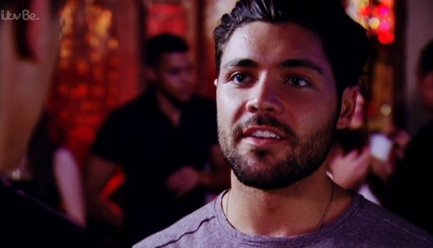 TOWIE Tom Pearce confronts Lewis Bloor about his intentions with George Harrison, ITVBe 22 October