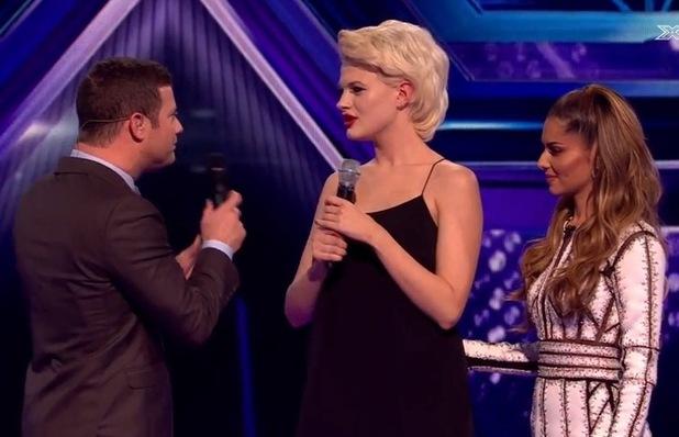 Chloe-Jasmine Whichello leaves the X Factor - 20 Oct 2014