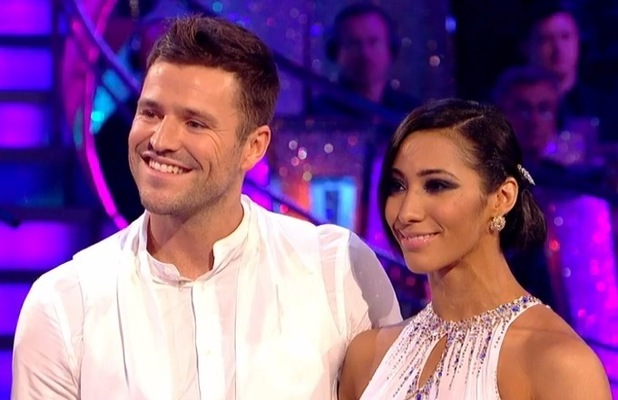 Mark Wright and Karen Haeur on Strictly Come Dancing, BBC One 18 October