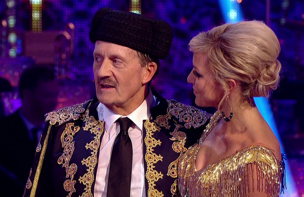 Tim Wonnacott is sent home on Strictly Come Dancing, BBC One 18 October