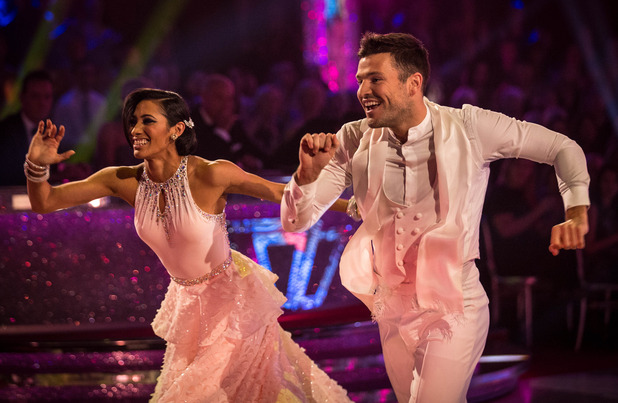 Strictly Come Dancing - Mark Wright and Karen Hauer - 18/10/2014.
