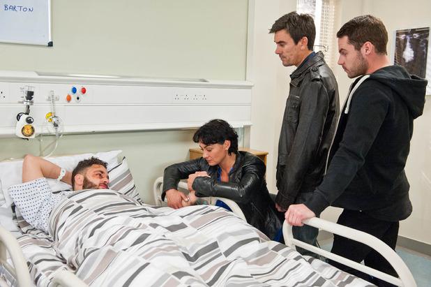 Emmerdale, Adam in hospital, Tue 28 Oct