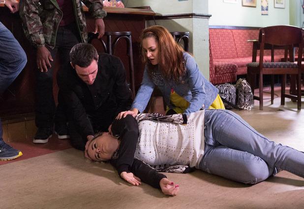 Corrie, Gemma collapses, Fri 24 Oct