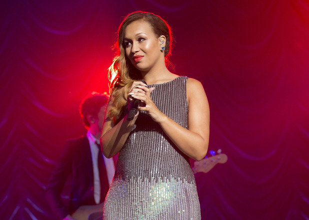 Rebecca Ferguson performs at The Henley Festival on July 13, 2014 in Henley-on-Thames, England.