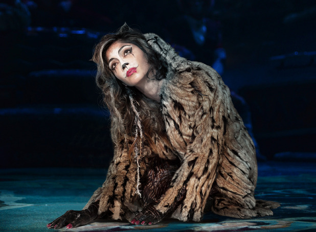 First-look at Nicole Scherzinger in Cats the musical - 24 October 2014.