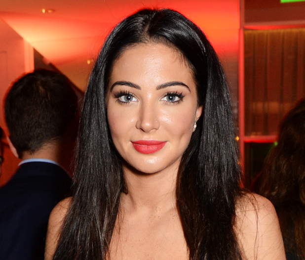 Tulisa Contostavlos attends a party hosted by Jonathan Shalit to celebrate his OBE at Avenue on October 14, 2014 in London, England.