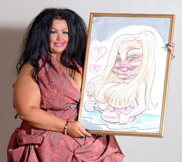 Krystina Butel, I spent £134,000 to look like my holiday caricature